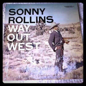 Sonny Rollins Way out West LP